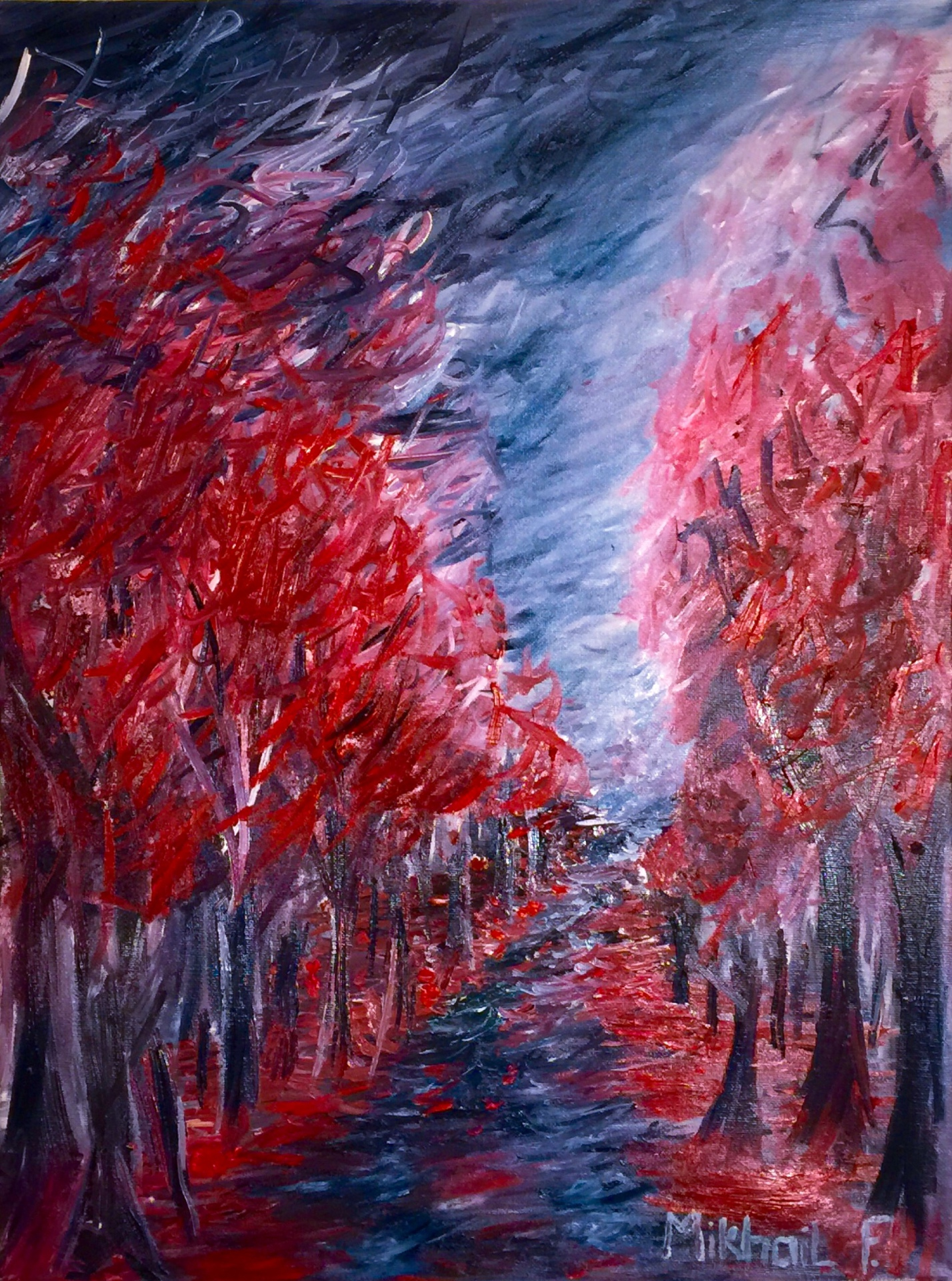 Red Tree Fanfare